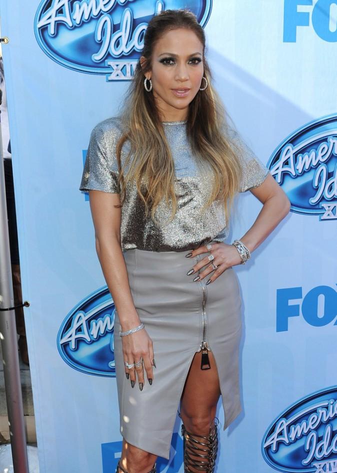 Jennifer Lopez à Los Angeles le 9 décembre 2014