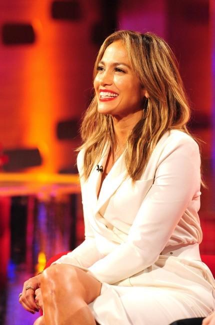 Jennifer Lopez sur le plateau du Graham Norton Show à Londres, le 30 mai 2013.