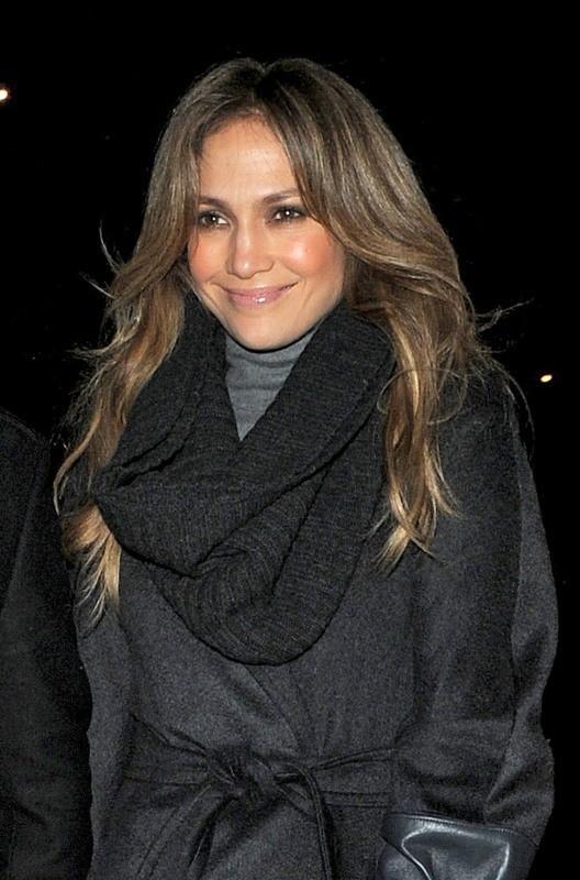 Jennifer Lopez à Londres, le 21 octobre 2012.