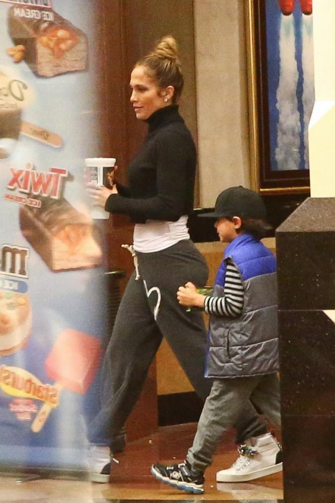 Jennifer Lopez le 9 novembre 2014