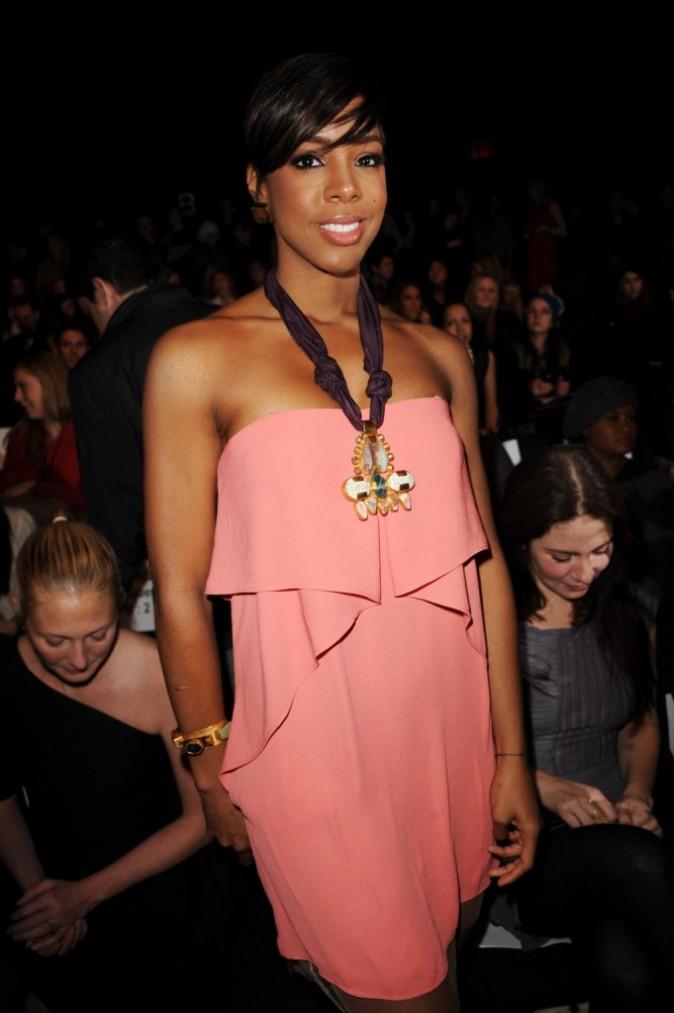 Kelly Rowland au défilé BCBG Max Azria, le 10 février 2010 à New York