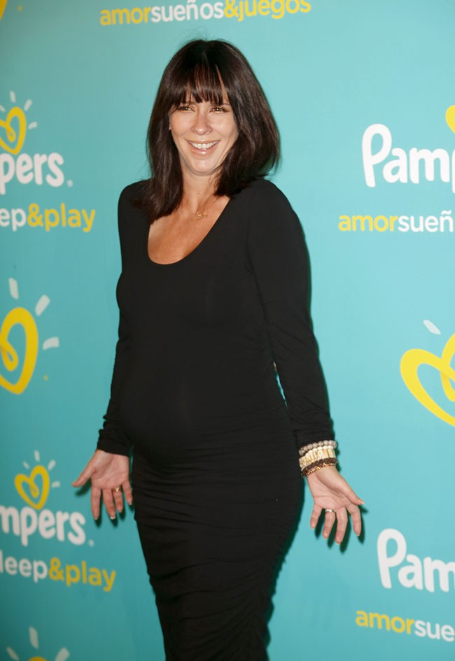 Jennifer Love Hewitt à la soirée organisée par Pampers à New-York le 21 août 2013