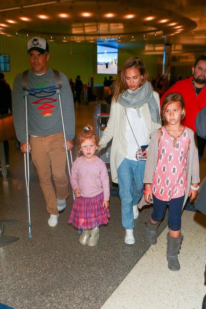 Photos : Jessica Alba : Sa fille et son mari blessés après leurs vacances au Mexique !