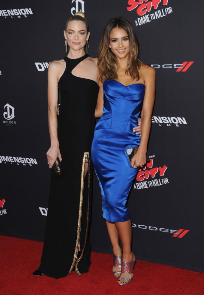 Jaime King et Jessica Alba