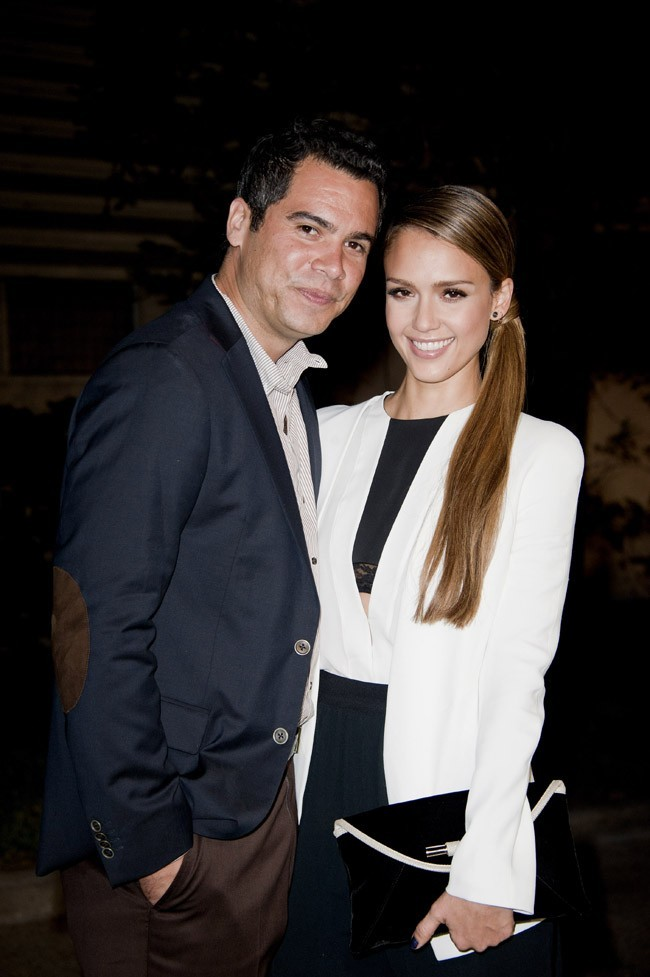 Cash Warren et Jessica Alba aux Environmental Media Awards 2012 le 29 septembre 2012