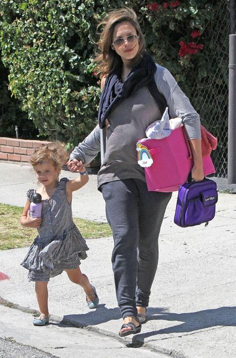 Jessica Alba, une maman qui aime habiller sa fille...