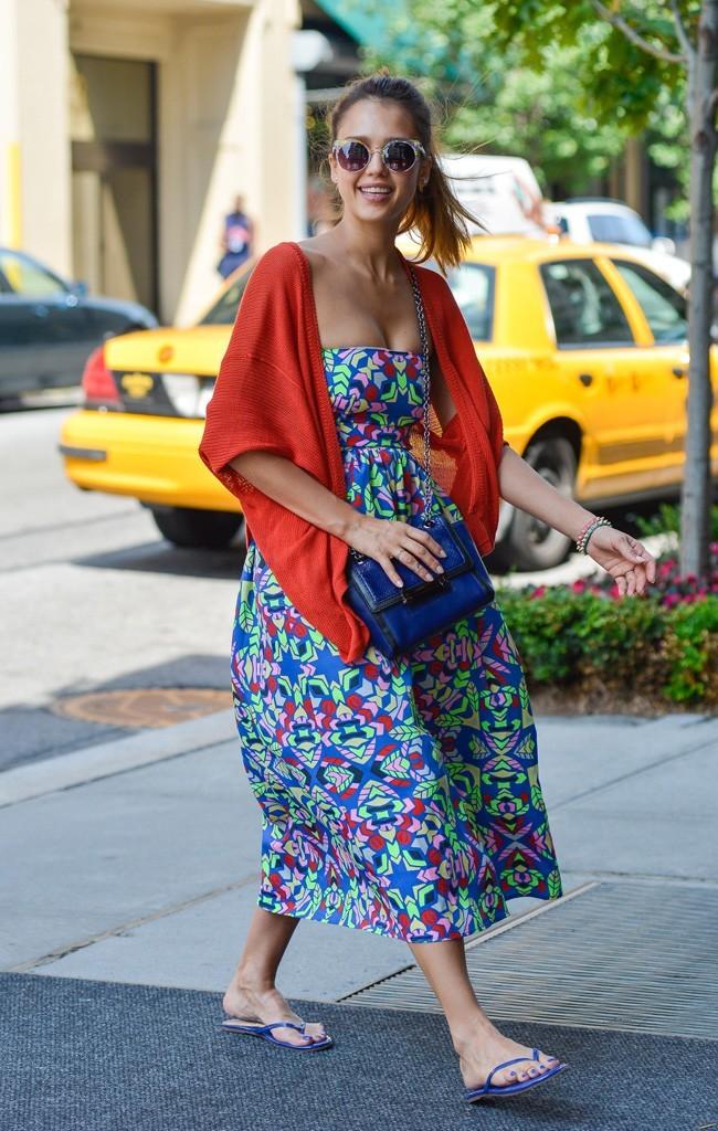 Jessica Alba le 22 juin 2013 à New York