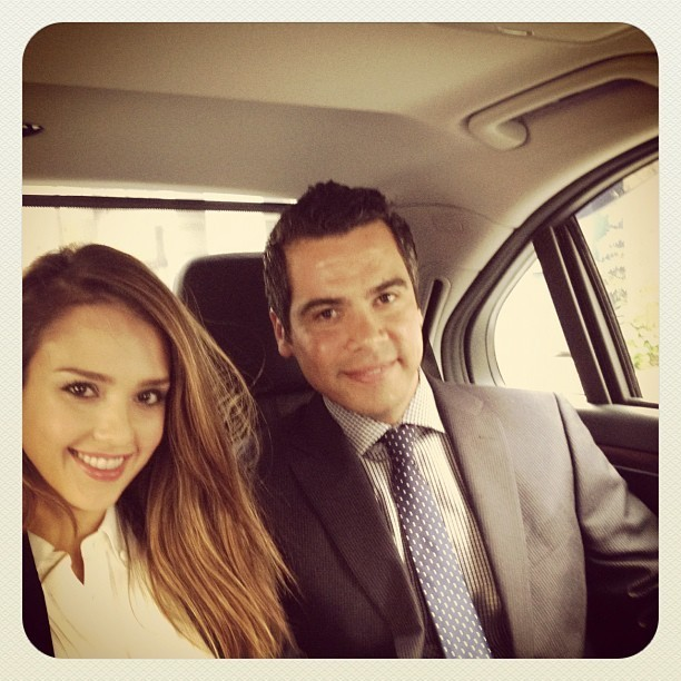 Jessica et son mari Cash Warren