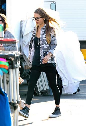 Jessica Alba à Los Angeles le 31 juillet 2013