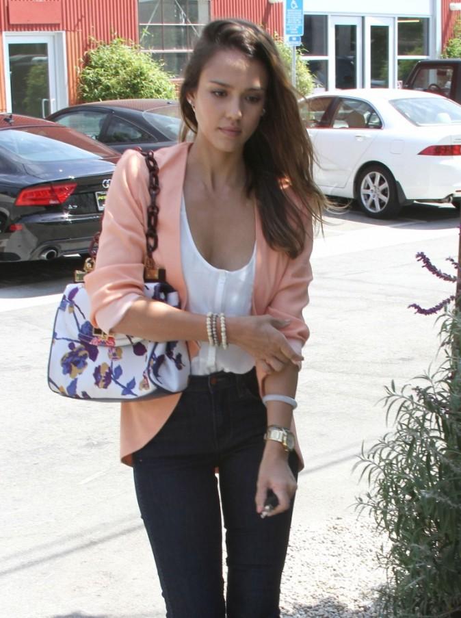 Jessica Alba à Los Angeles, le 2 août 2012.