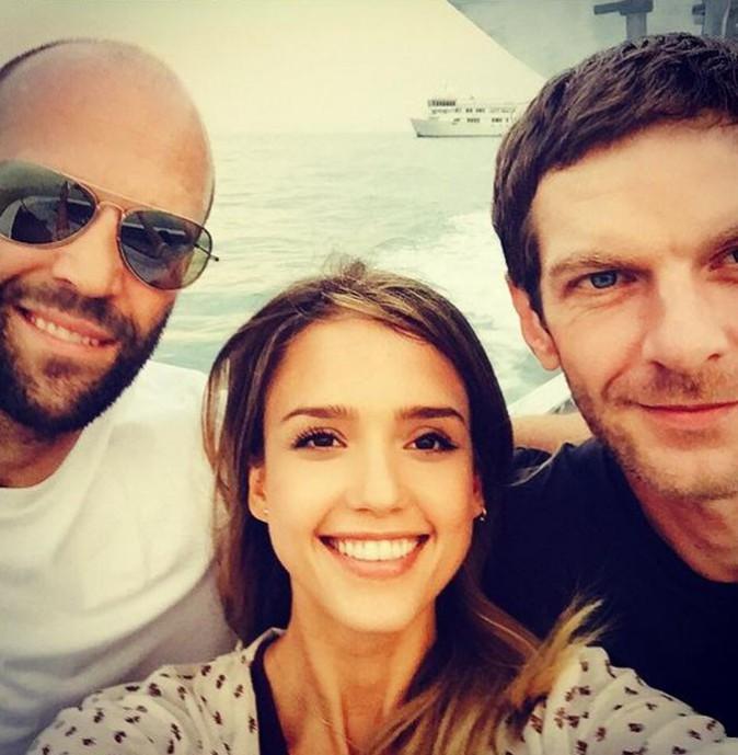 Jessica Alba en Thaïlande avec Jason Statham...