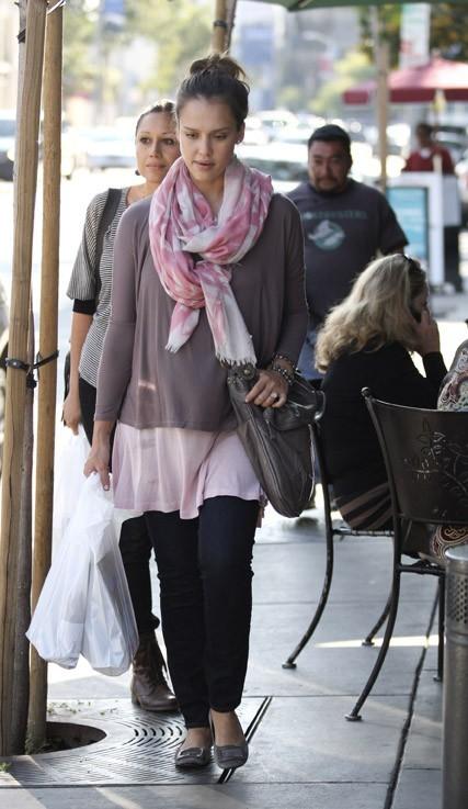 Jessica Alba va appeler son second enfant Eva... Vous aimez ?!