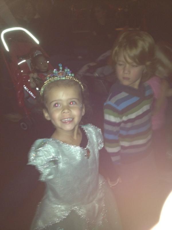 Honor Marie, accro au déguisement de princesse !