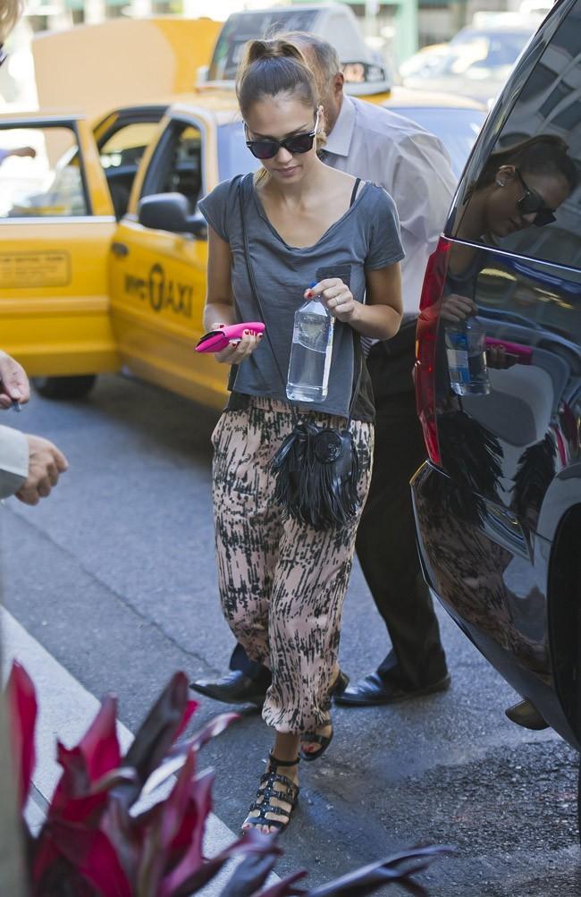 Jessica Alba le 25 juillet 2012 à New York