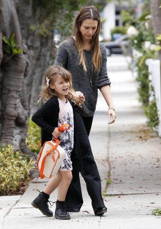 Jessica Alba et Honor Marie le 24 juin 2013 à Los Angeles
