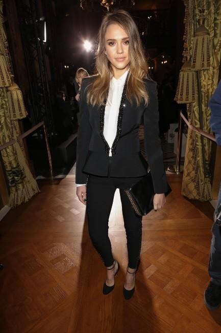 Jessica Alba le 4 mars 2013 à Paris