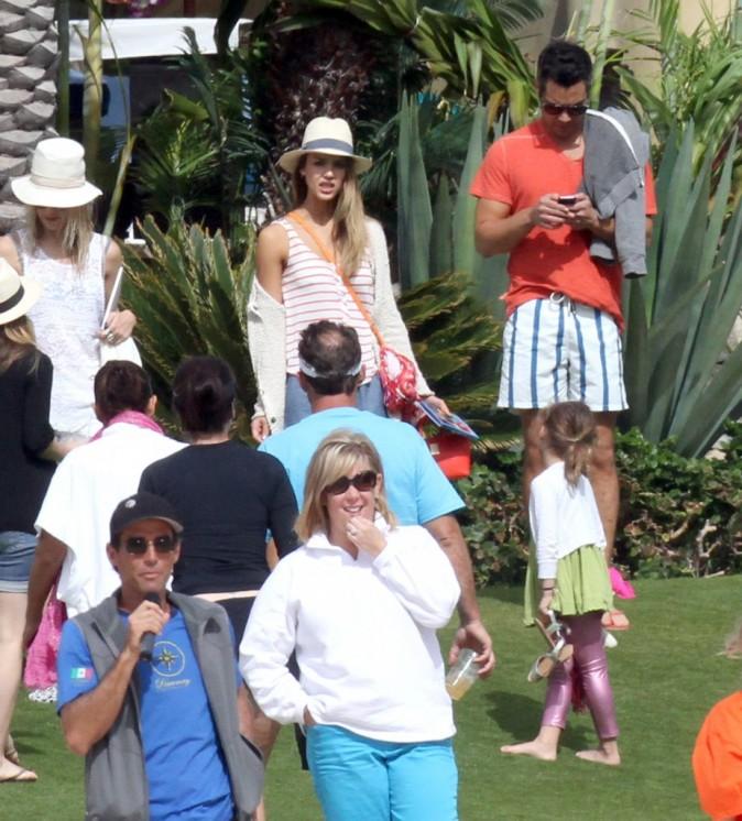 Jessica Alba en vacances en famille à Los Cabos, le 29 décembre 2012.