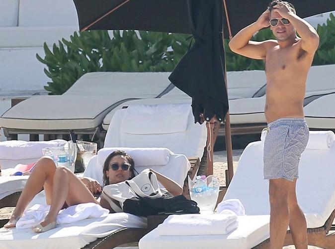 Jessica Alba et Cash Warren à Cancún le 11 juillet 2014