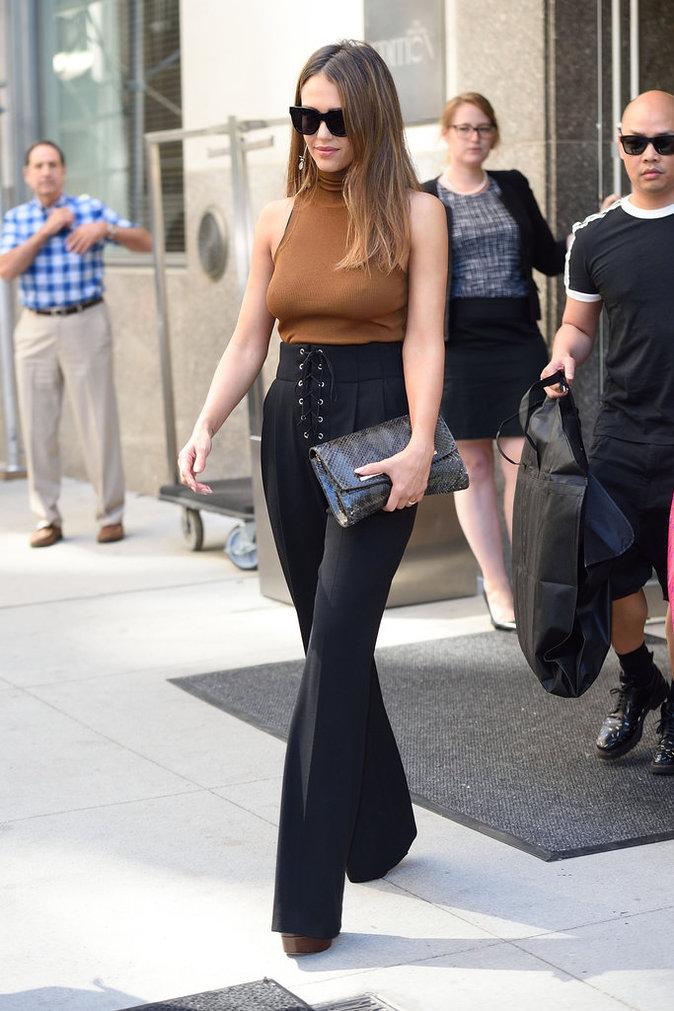 Jessica Alba a beaucoup de style