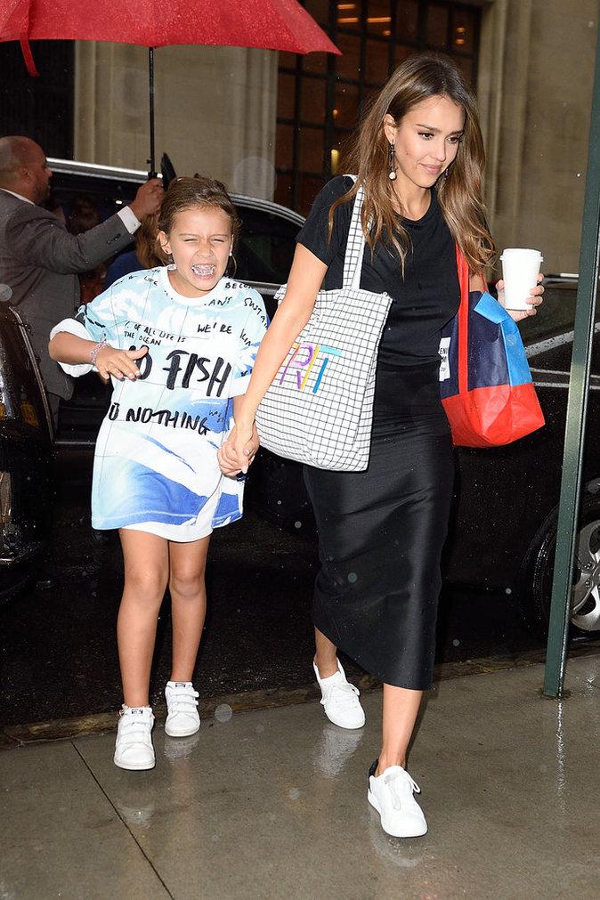 Jessica Alba s'éclate avec sa fille Honor