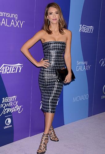 Jessica Alba à Los Angeles le 4 octobre 2013