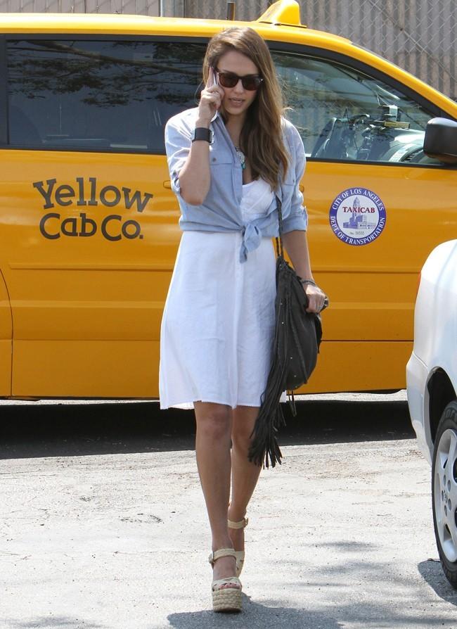 Jessica Alba, Santa Monica, 17 août 2012.