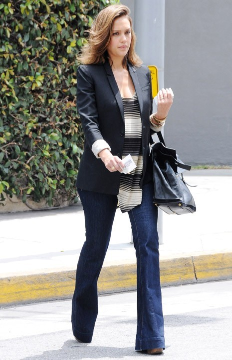 Jessica Alba à Beverly Hills, le 9 juin 2011.