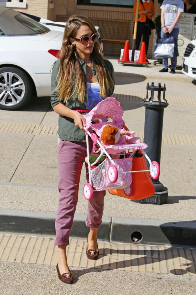 Jessica Alba : super-maman !