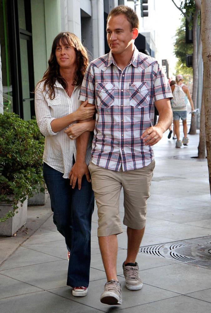 Photos : le mariage incognito d'Alanis Morissette et Mario Treadway