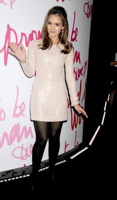 Jessica Alba lors de la soirée Diane Von Furstenberg Awards 2012 à New York, le 9 mars 2012.