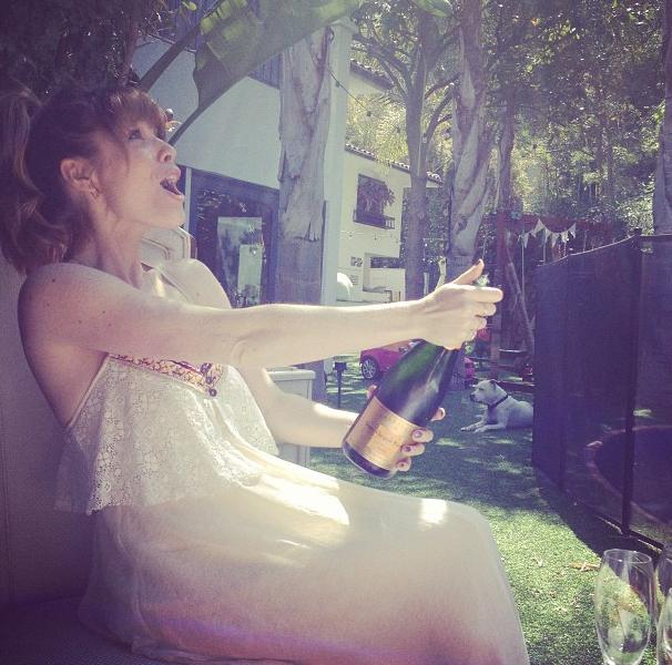 Champagne entre filles !