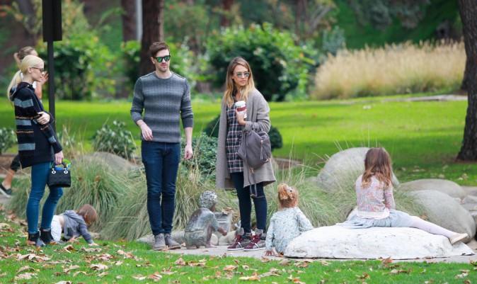 Jessica Alba et Jaime King le 7 décembre 2014