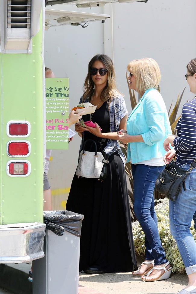 Jessica Alba à Santa Monica le 29 juillet 2014