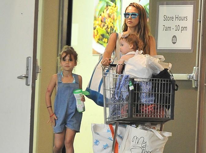 Jessica Alba à Beverly Hills le 30 juin 2013