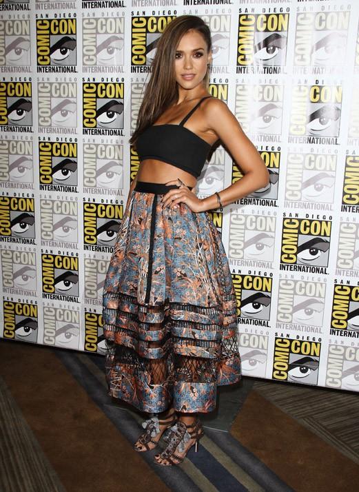 Jessica Alba au Comic-Con de San Diego le 26 juillet 2014
