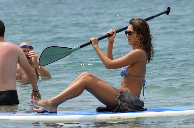Photos : Jessica Alba : une sirène à Hawaï !