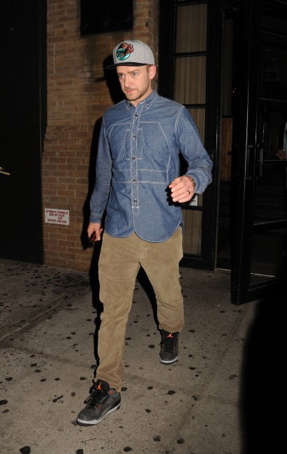 Justin Timberlake à New York, le 26 août 2013.