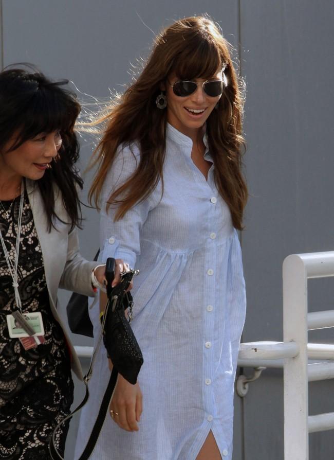 Jessica Biel le 3 septembre 2012 à Los Angeles