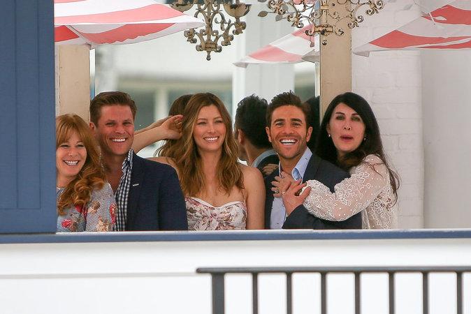Jessica Biel et ses amis ont l'air de s'éclater