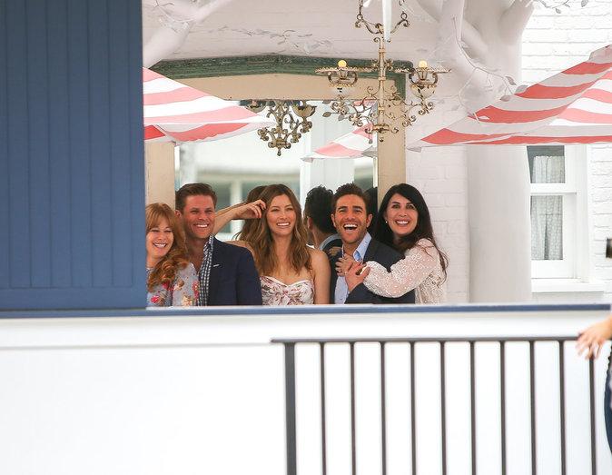 Jessica Biel, resplendissante pour fêter l'ouverture de son restaurant