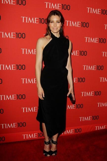 """Jessica Biel lors de la soirée """"2013 Time 100 Gala"""" à New York, le 23 avril 2013."""