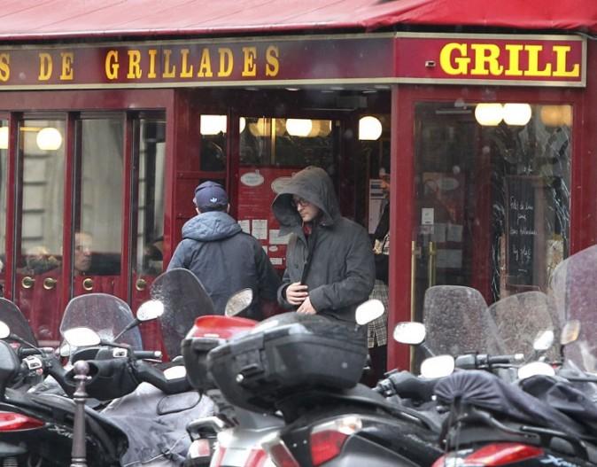 Jessica Biel et Justin Timberlake repérés à Paris le 25 février 2013