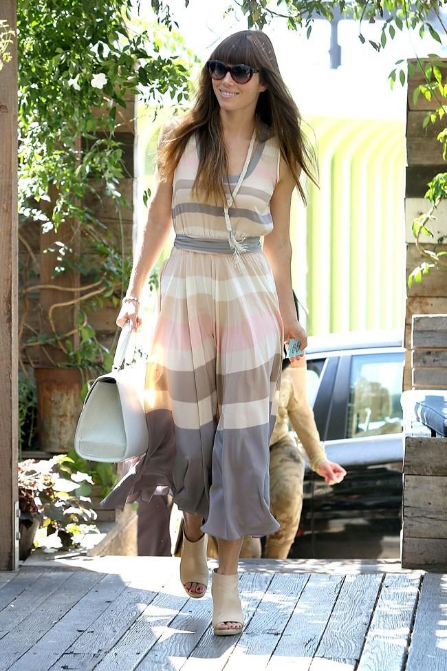 Jessica Biel le 15 septembre 2012 à Los Angeles