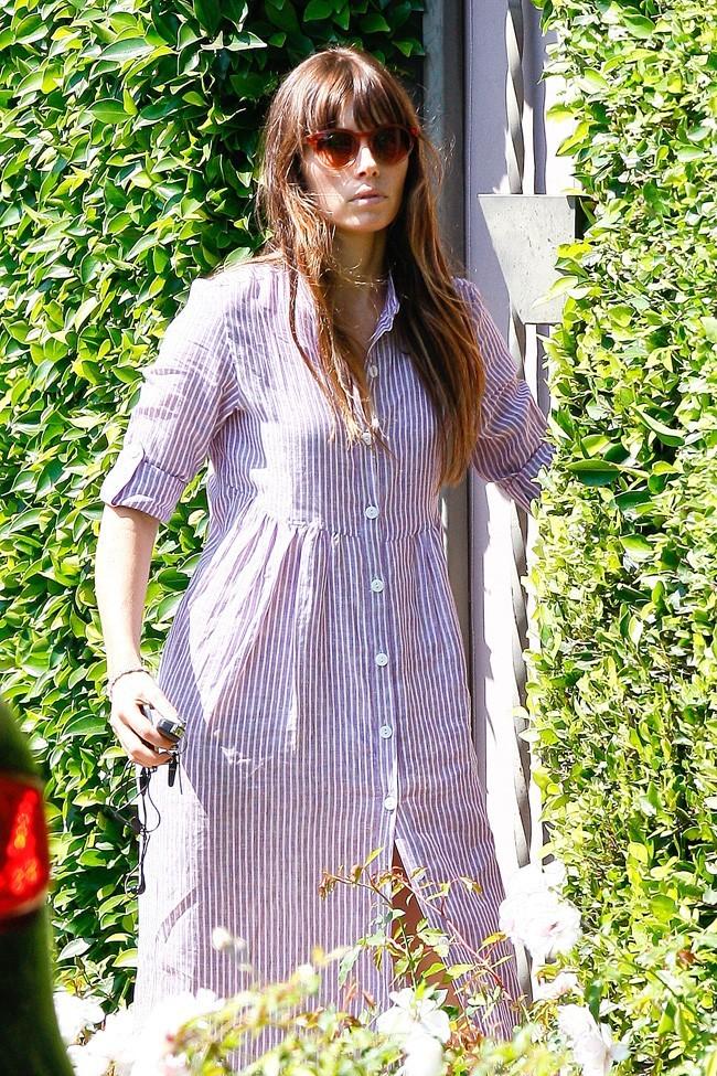 Jessica Biel le 31 juillet 2012 à Los Angeles