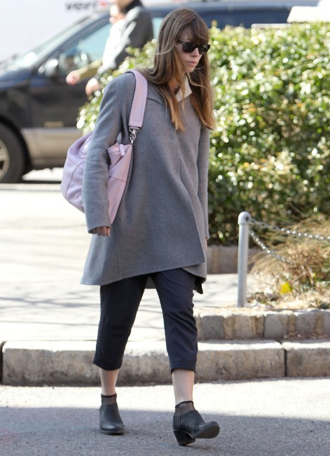 Jessica Biel le 9 mars 2013 à New York