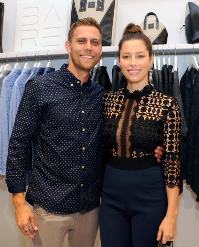 Jessica et Justin Biel le 27 août 2015