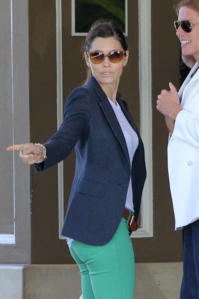 Jessica Biel le 24 juillet 2012 à Los Angeles