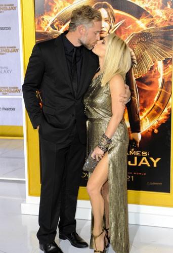Photos : Jessica et Ashlee Simpson : des sœurs in love pour la première de Hunger Games à LA !