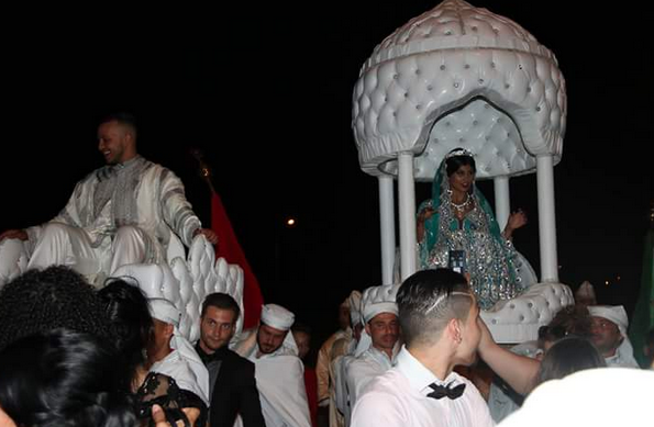 Photos : Jessica (Les Anges 7) : mariée à Zack, découvrez tous les clichés de la cérémonie orientale !