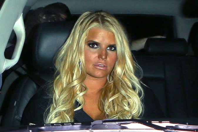 Jessica Simpson à West Hollywood le 26 septembre 2013